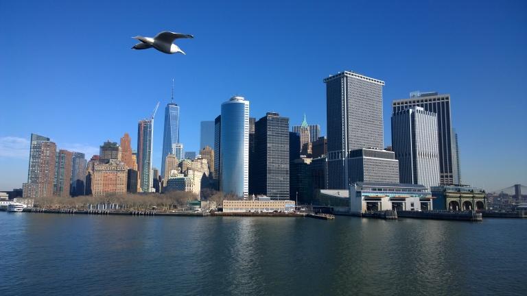 Staten Island Ferry - Manhattan view (11)